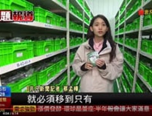 WorldVeg featured on Taiwan TV