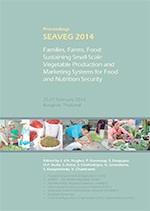 SEAVEG2014 proceedings cover
