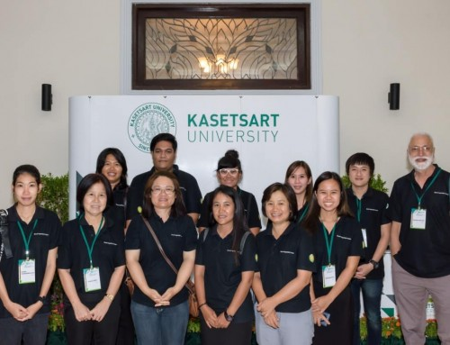 WorldVeg East and Southeast Asia participates in KU Hi-trees